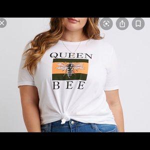 Charlotte Russe queen bee tee
